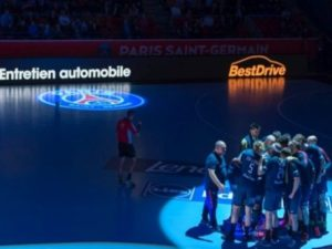 BESTDRIVE : Activation partenariat PSG Handball