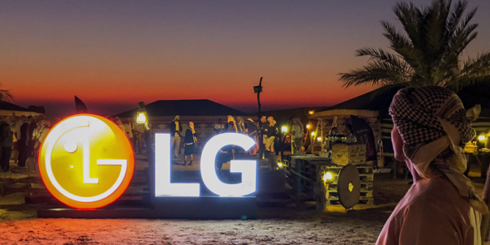 LG : challenge des installateurs
